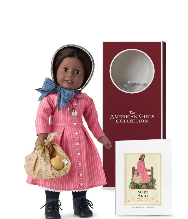 The 35th Anniversary Collection willfeature each signature 18-inch doll dressed in her original outfit and the first paperback book in her series with a vintage cover.