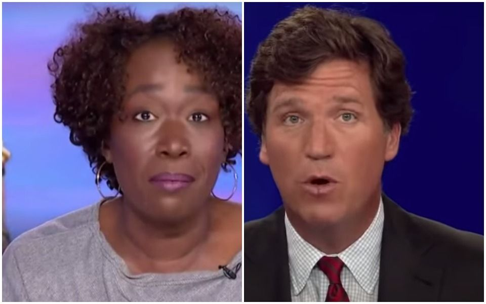 Joy Reid Takes Tucker Carlson's 'Race Lady' Dog Whistle, Throws It Back At 'Tuckums'