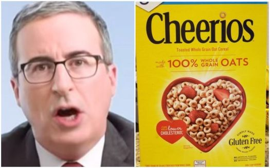 John Oliver Brilliantly Escalates His Trolling Of Cheerios 2