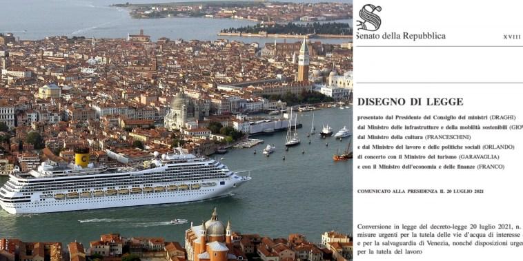Venezia, ecco il conto dello stop alle grandi navi: oltre 200 milioni (di C. Paudice)