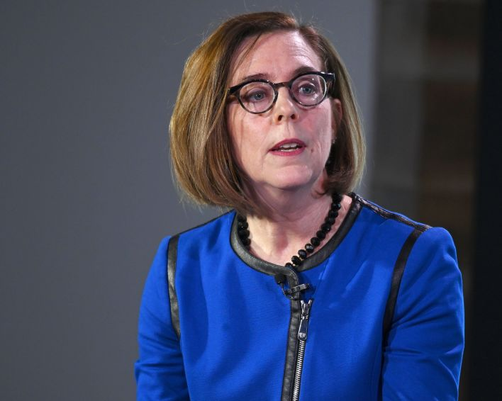 Oregon Gov. Kate Brown's shift in policy came amid the ongoing surge in cases linked to the delta variant of the corona