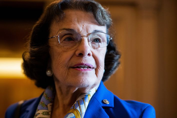 California Sen. Dianne Feinstein has reportedly shown signs of short-term memory loss that could affect whether she finishes