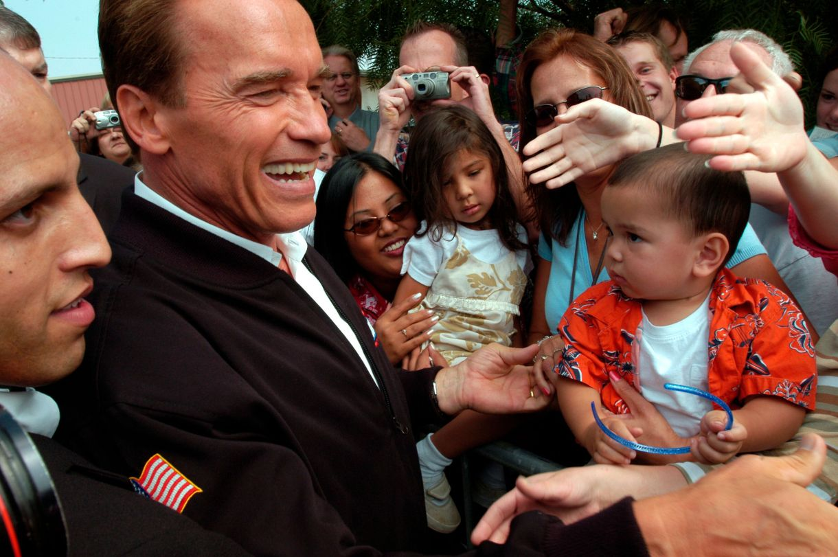 Arnold Schwarzenegger, a Republican who governed California from 2003 to 2011, is the first and only person to win a gubernat