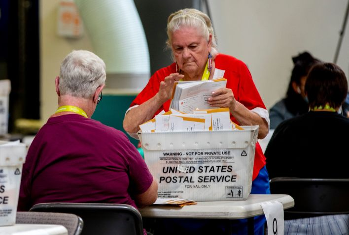 There were few reported problems with voting in California on Tuesday.