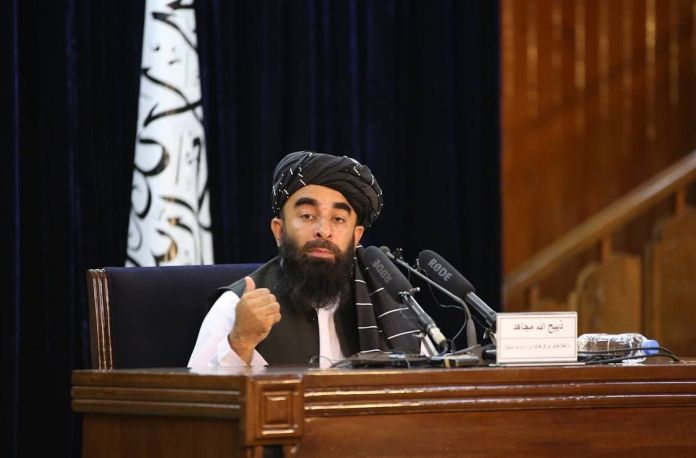 Taliban spokesperson Zabihullah Mujahid held out the possibility of adding women to the Cabinet at a later time, but gave no