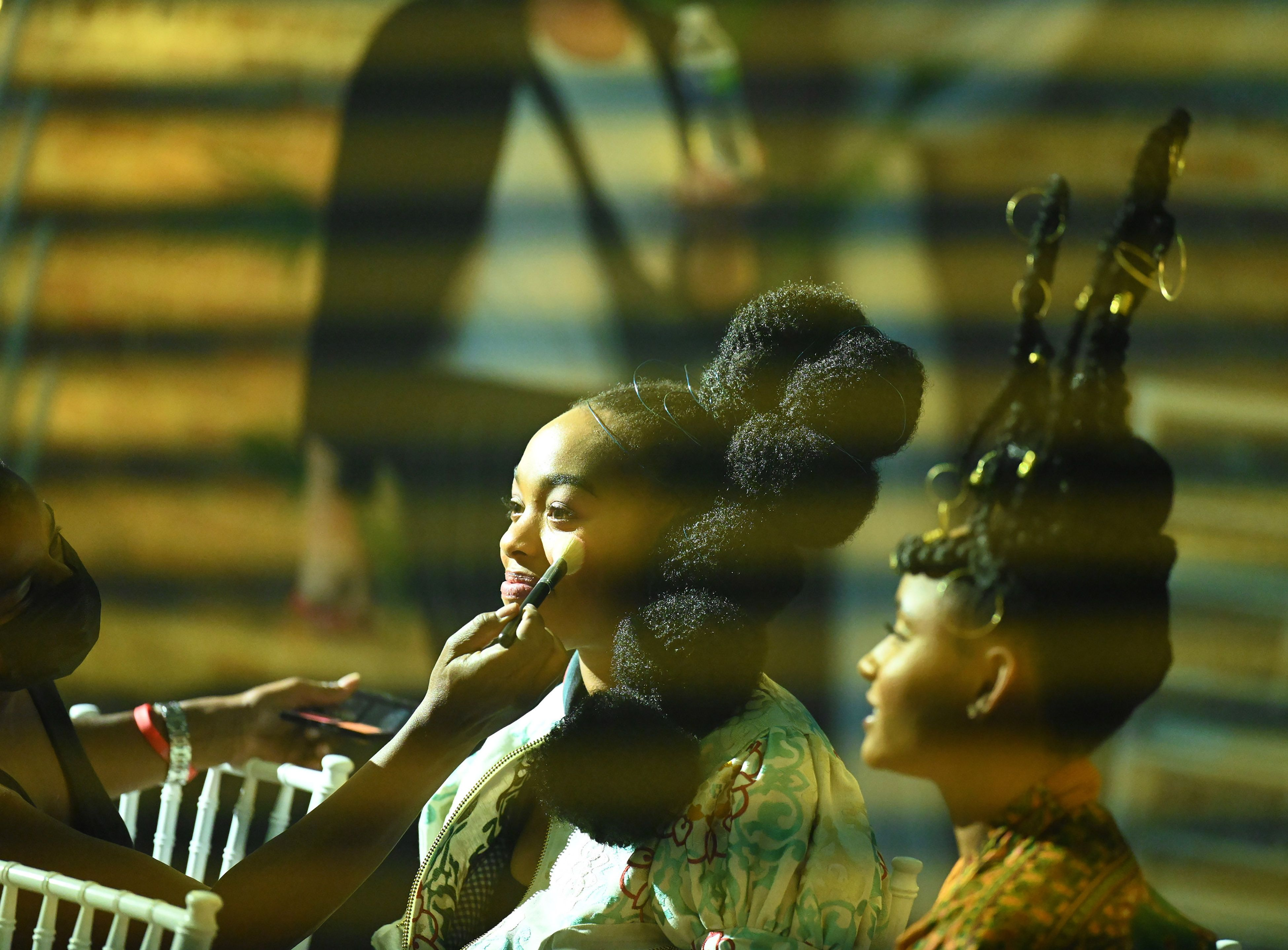 """Alana Bright (left) and Rhyon Nicole Brown (right) in """"Our Kind of People."""""""
