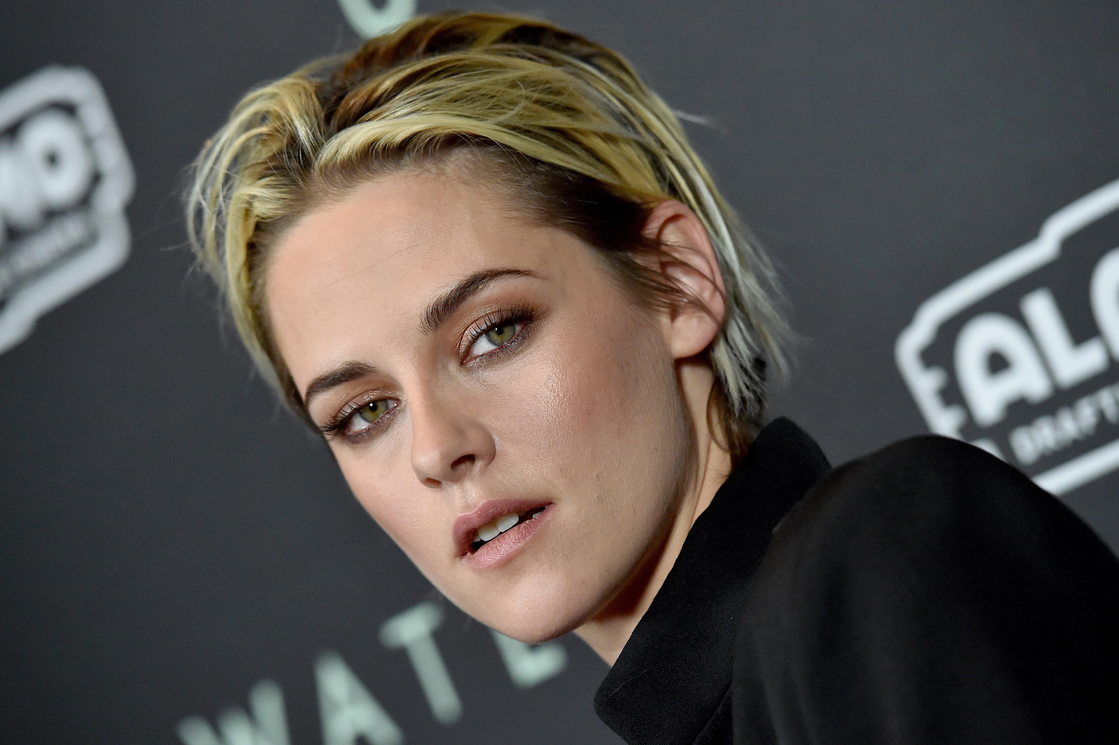 "Kristen Stewart attends the screening of ""Underwater"" on Jan. 7, 2020 in Los Angeles."