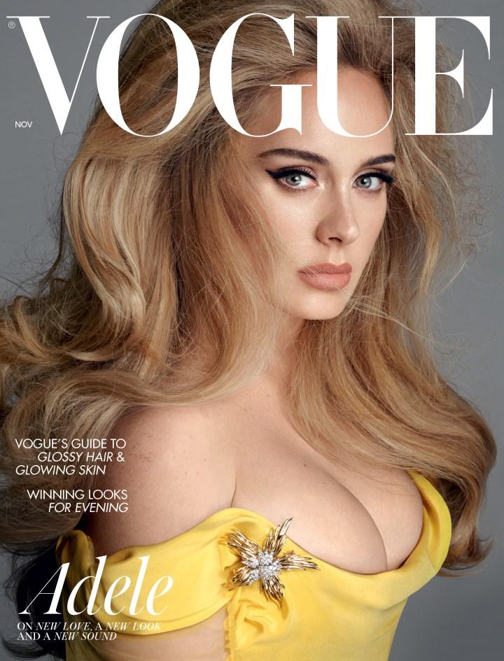 Steven Meisel photographs Adele for British Vogue.