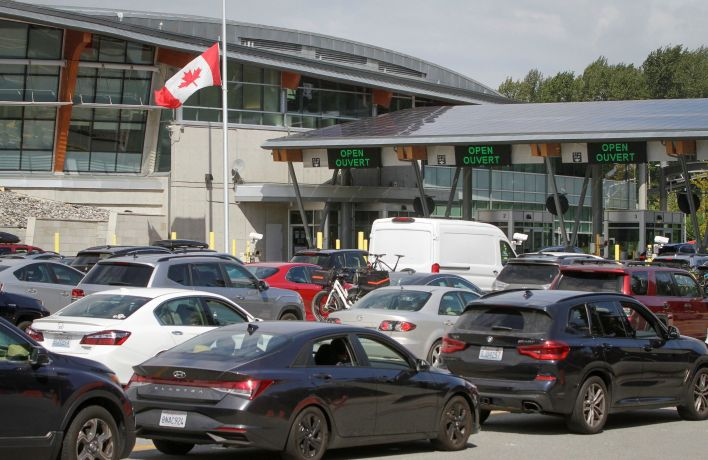 Canada began to allow the entry by fully vaccinated U.S. citizens and permanent residents in August.