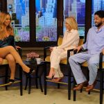 Mariah Carey Attends Live With Kelly In Sexy Pyjamas