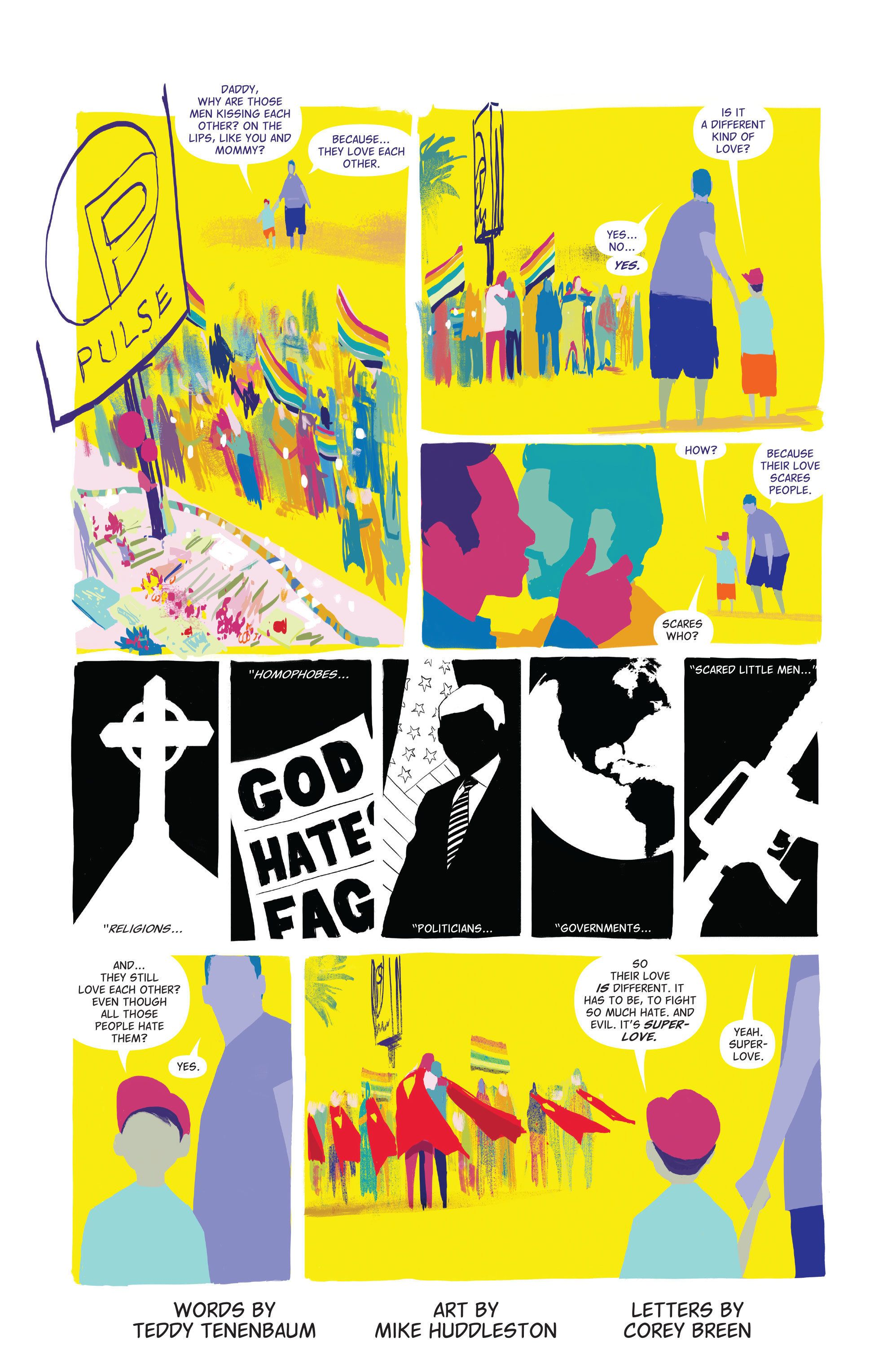 Image result for love is love comic dc idw
