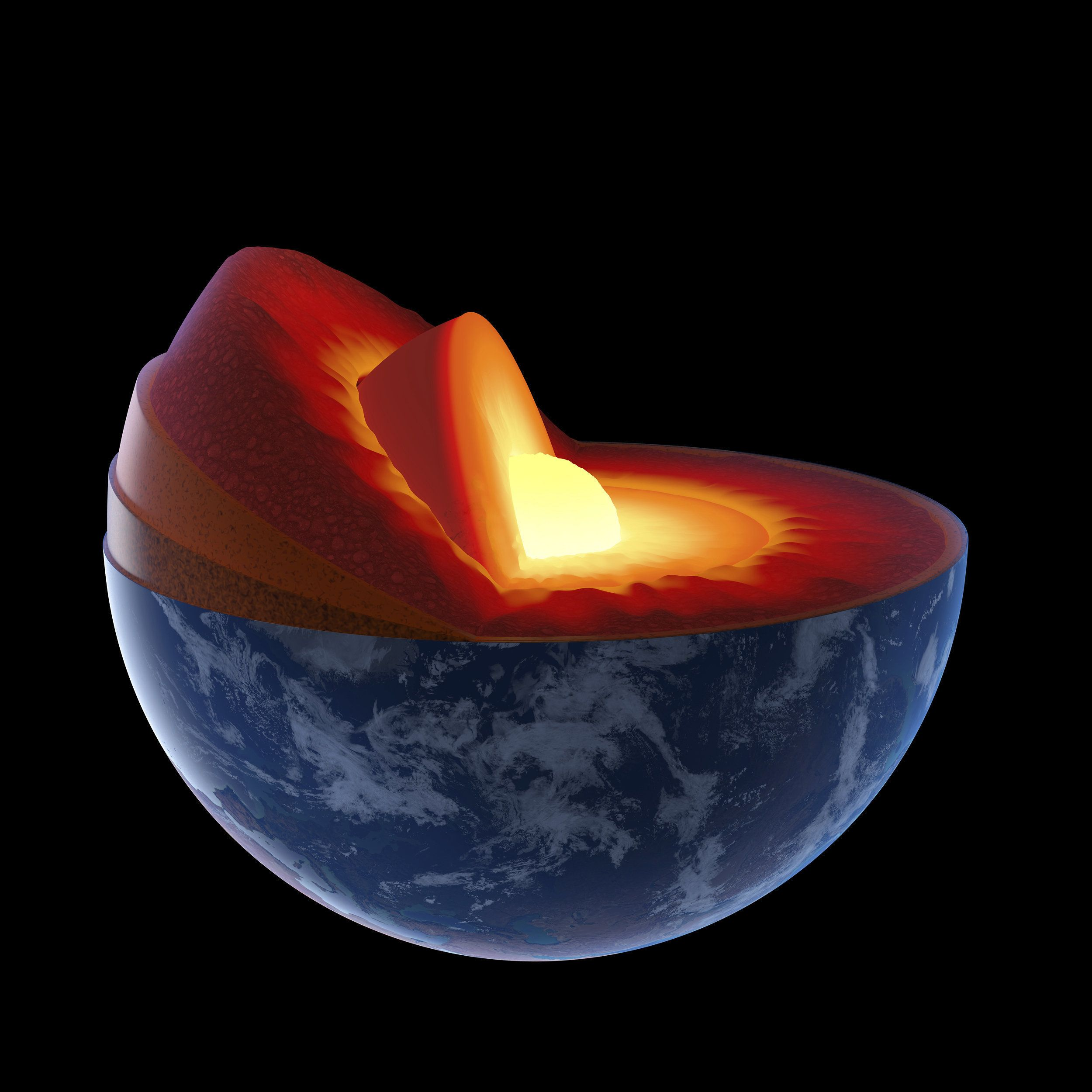 Image result for earth's core