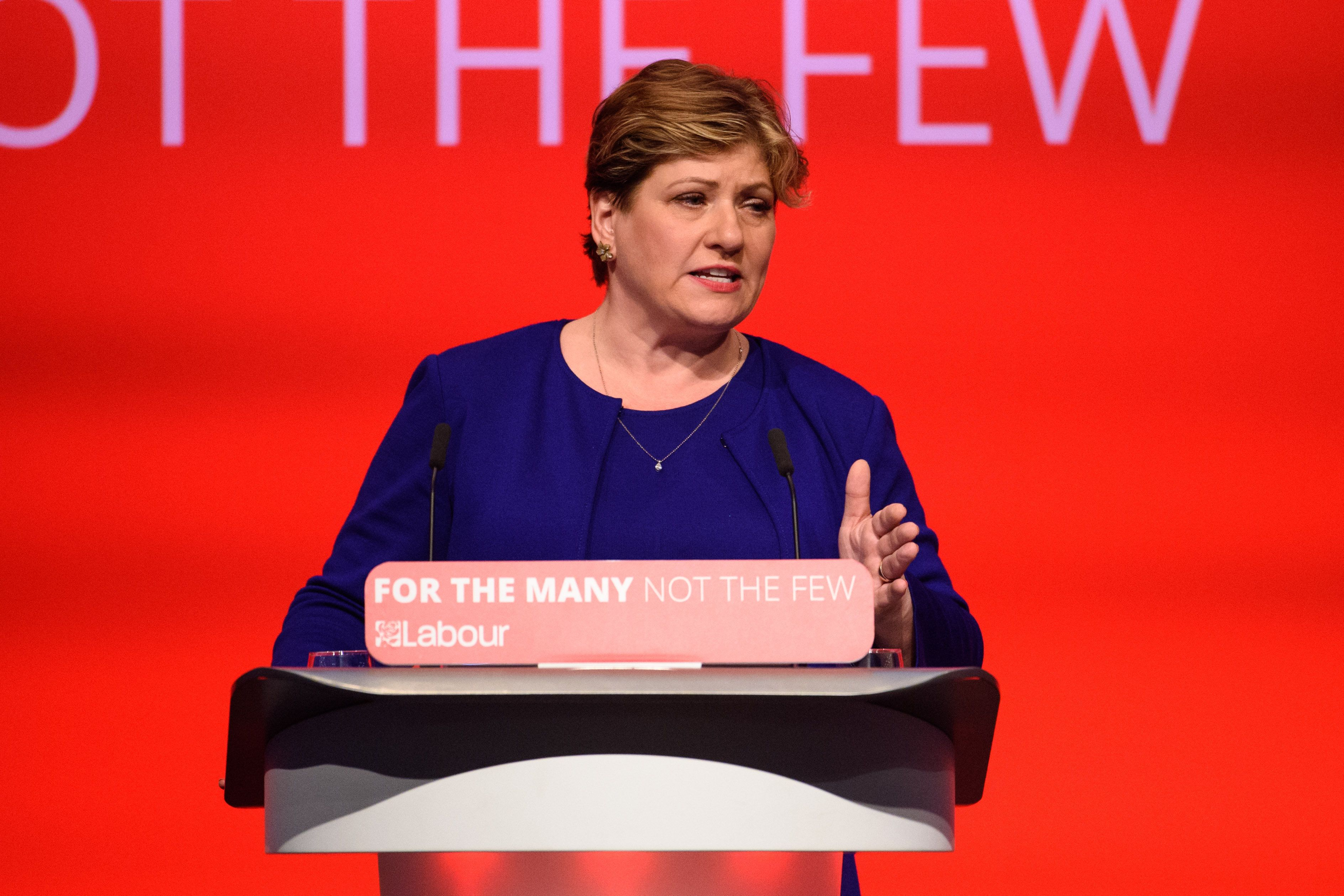 Image result for emily thornberry Iran