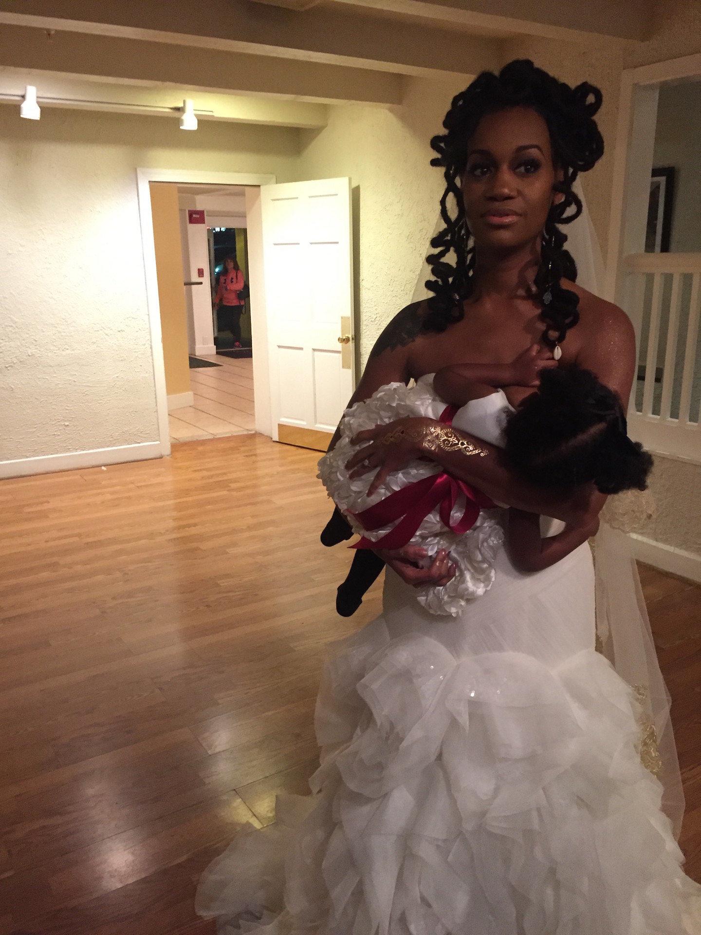 Image result for breastfeeding bride