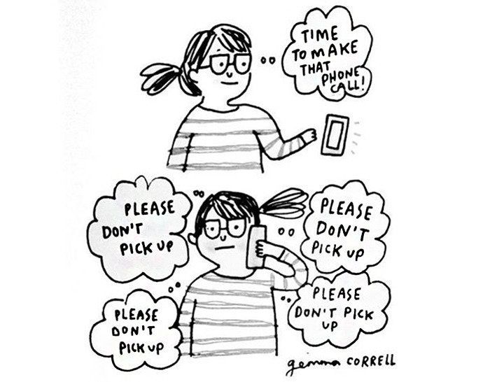 Artist Channels Her Anxiety And Depression Into Hilarious