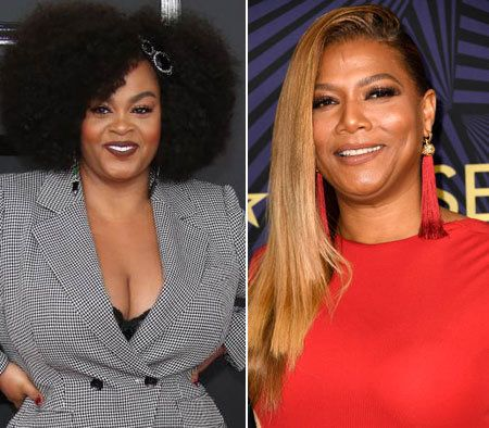 Image result for Queen Latifah & Jill Scott  getty image