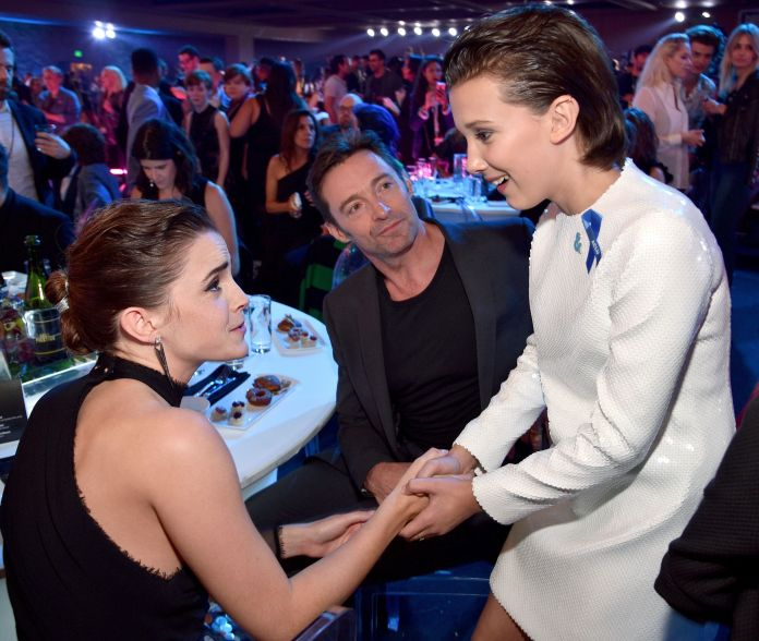 Of Course The 'Stranger Things' Kids Took Over The MTV Movie & TV Awards 590fd27a1400000d17f8bb4b