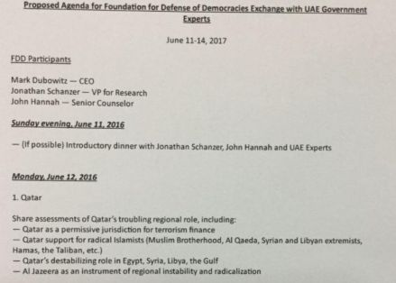 uae anti-iran document