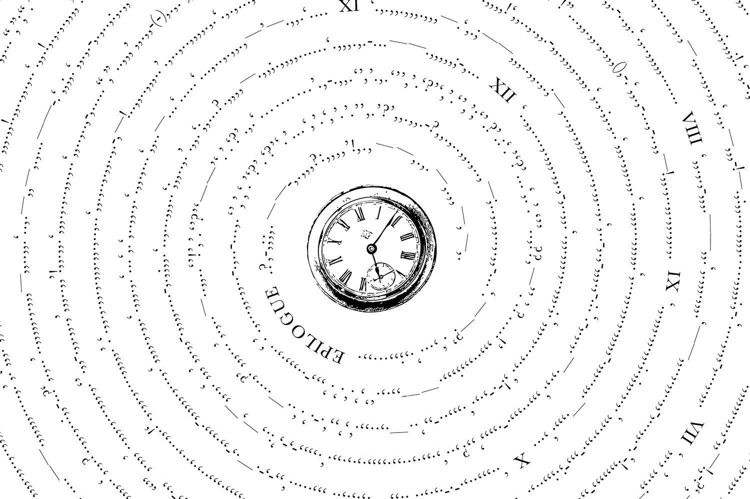 Mesmerizing Graphics Strip Classic Books Down To Their