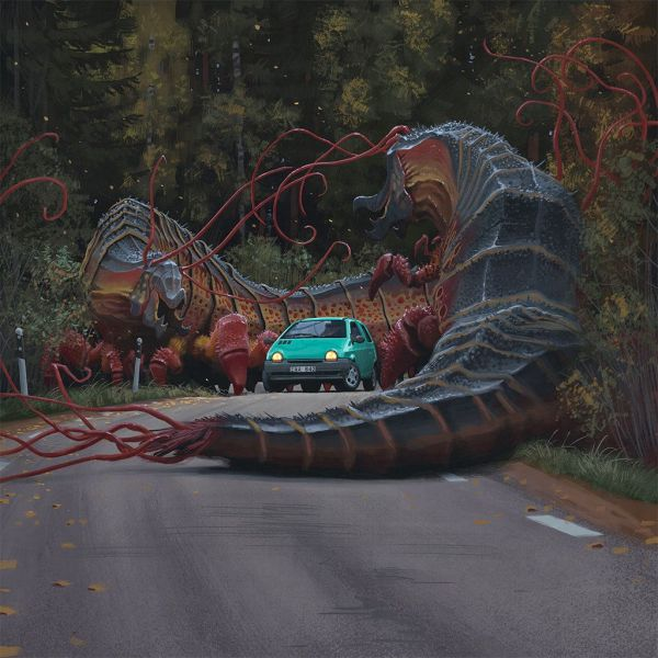 Dinosaur Art Gallery Simon Stalenhag
