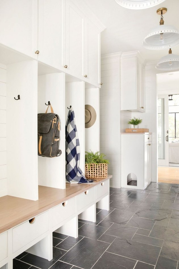Bria Hammel Interiors mudroom