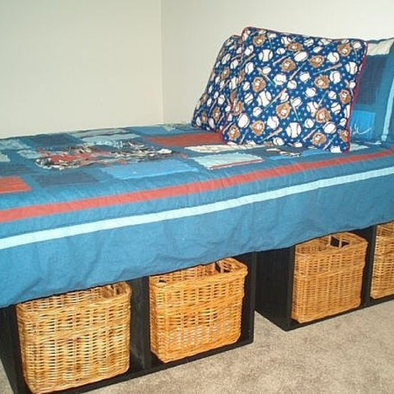 How to Make a Platform Bed With Storage | Hunker