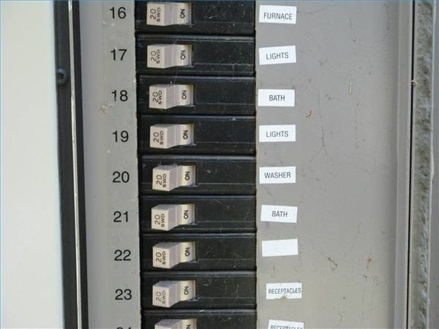 Power Circuit Breaker On Changing From A Fuse Box To A Breaker Box