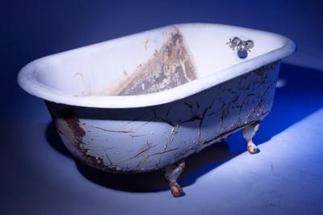 How To Refinish Bathtubs With Rust Oleum Hunker