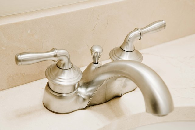 How to Take Apart a Price Pfister Bathroom Faucet  Hunker