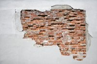 How to Create Faux Exposed Brick Wall Using Venetian ...