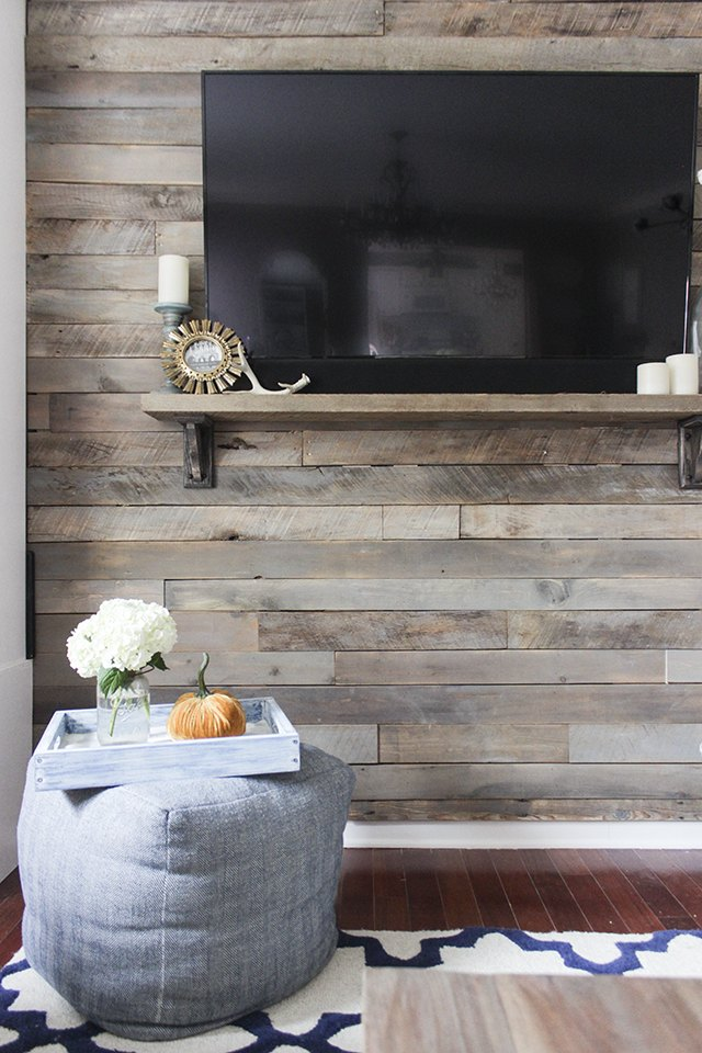 How to Create a Wood Pallet Accent Wall  Hunker