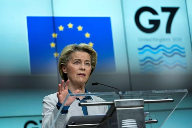 European Commission President Ursula von der Leyen says investigators need complete access to sites and information.Photo: Reuters