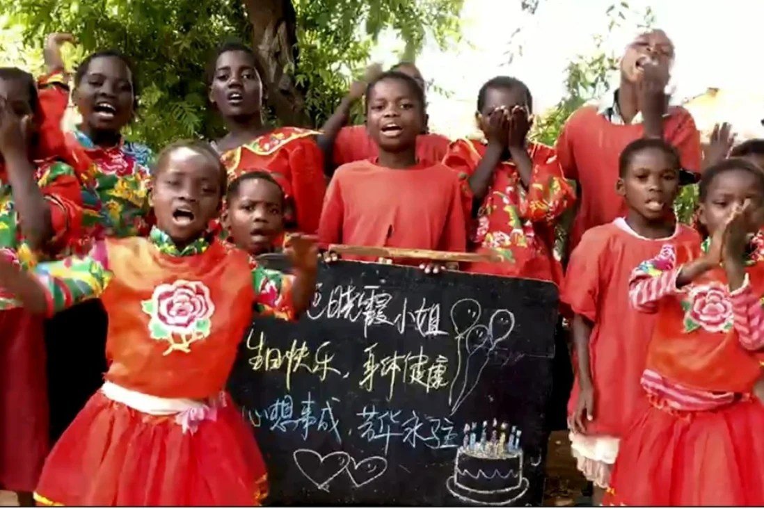 Videos of African children giving personalised birthday greetings – sold on Chinese e-commerce websites – divide opinion   South China Morning Post