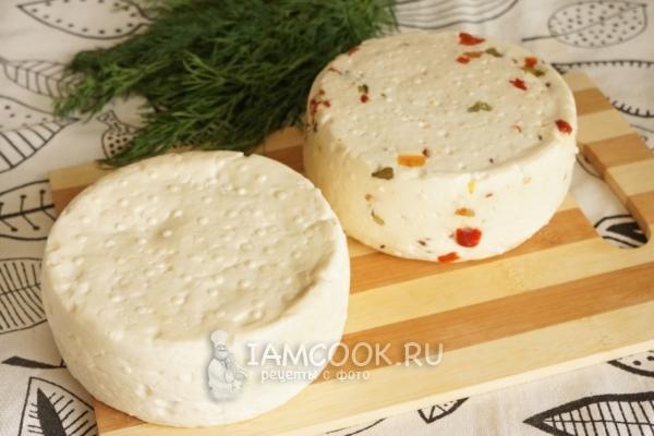 Фото домашнего Имеретинского сыра