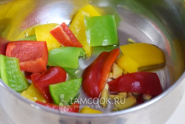 फ्राई सब्जियां और पिनास