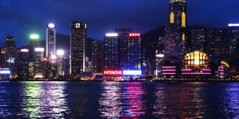香港 四天三夜  Forever21 維多亞港的燈光秀 星光大道