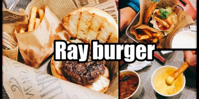 台北士林站❤ Burger Ray 個性漢堡❤❤讓你創做出專屬於你個性的漢堡!!!(含菜單)