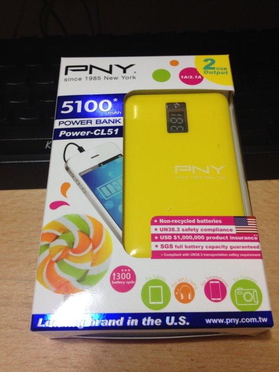 Costco 賣的 PNY Power-CL51 行動電源   院長與小芊比的院內消息