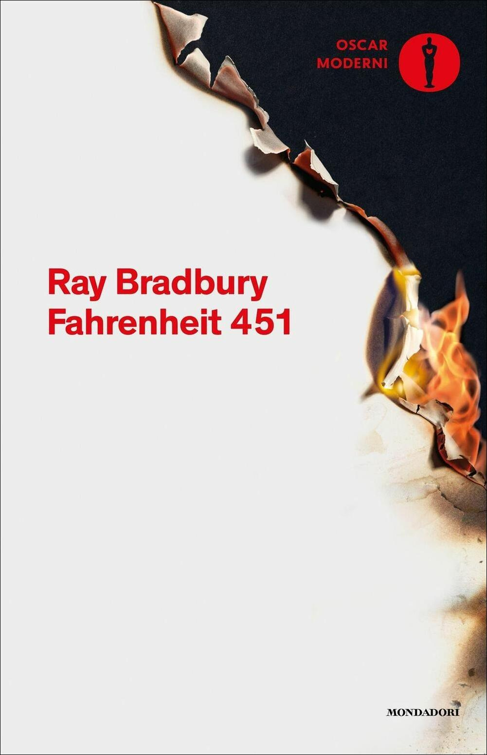 Fahrenheit 451  Ray Bradbury  Libro  Mondadori  Oscar