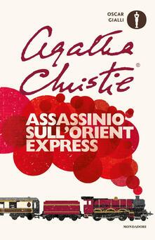 Assassinio sull'Orient Express - Agatha Christie - copertina