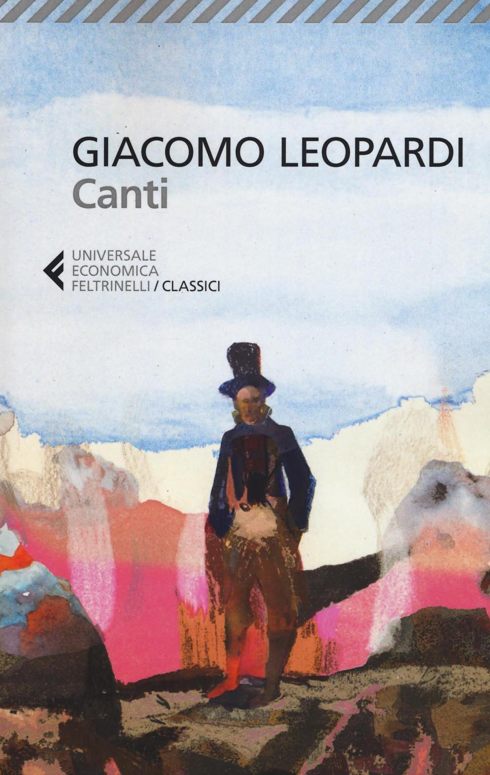 Canti  Giacomo Leopardi  Libro  Feltrinelli