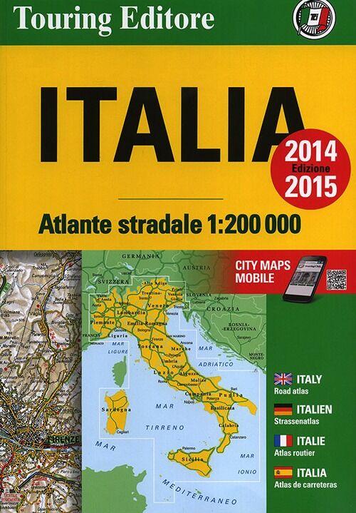 Atlante stradale dItalia Nord Centro Sud 1200000