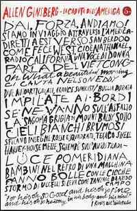 La caduta dellAmerica 19651971 Testo inglese a fronte  Allen Ginsberg  Libro  Il Saggiatore   IBS