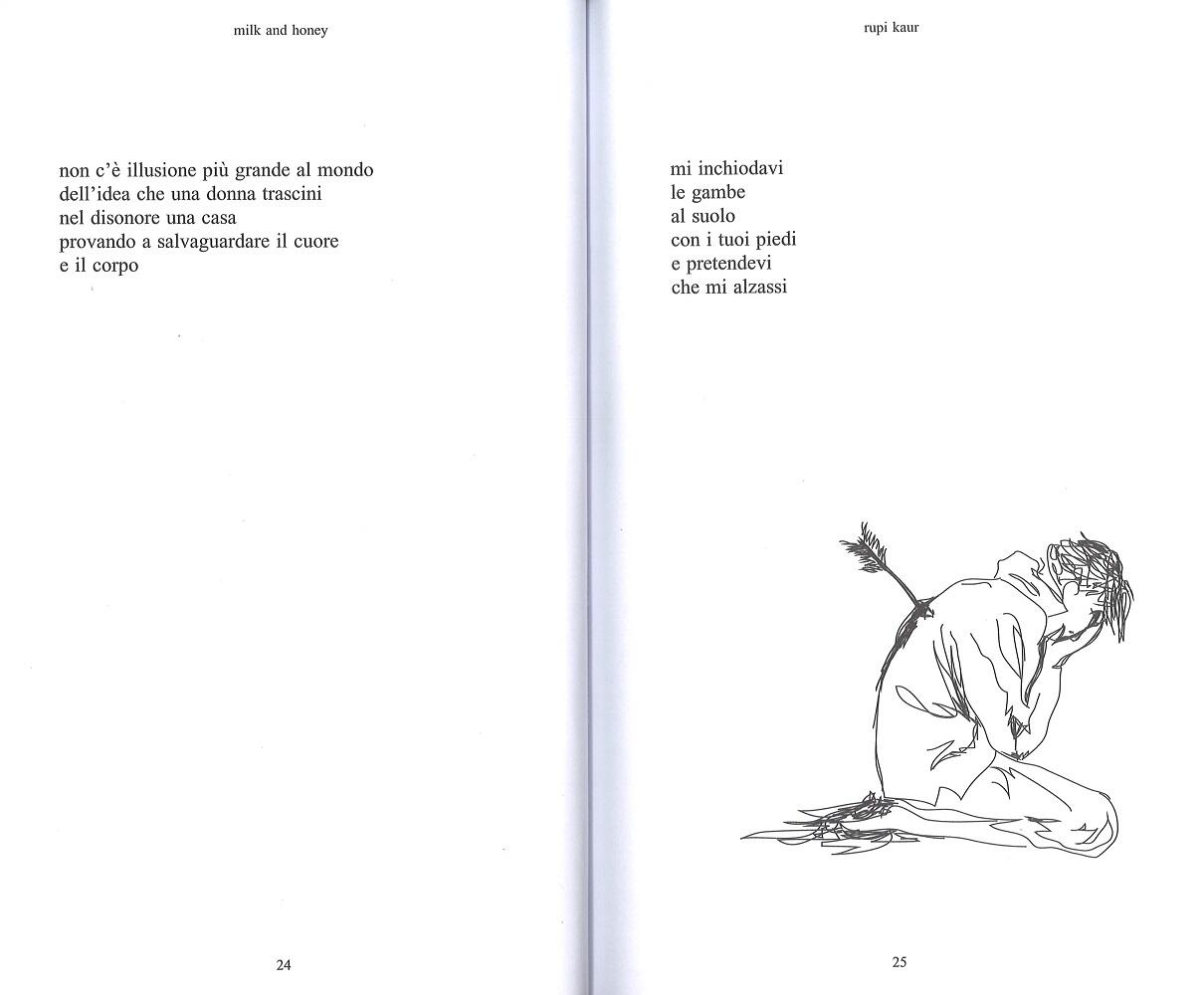 Milk and honey. Parole d'amore, di dolore, di perdita e di