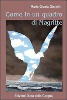 Come in un quadro di Magritte - M. Grazia Giannini - copertina