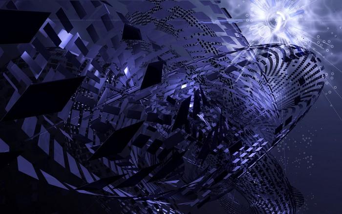 Msn Wallpaper Hd Tema Abstrato Escuro Download