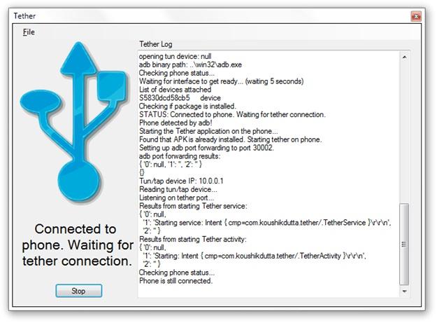 ClockworkMod Tether Download para Windows Grátis