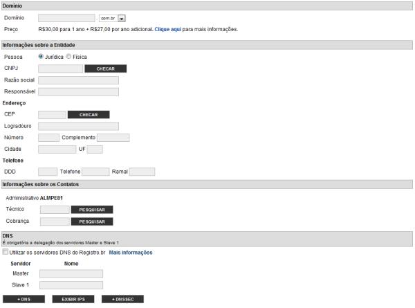 Como registrar um domínio na internet?