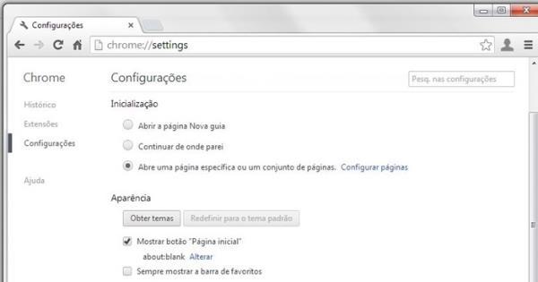 Como remover o Delta Search do seu navegador