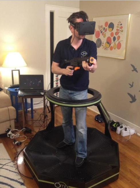 Virtuix Omni: revolucionando a forma de jogar video game